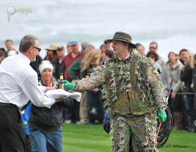 Bill Murray at Pebble Beach