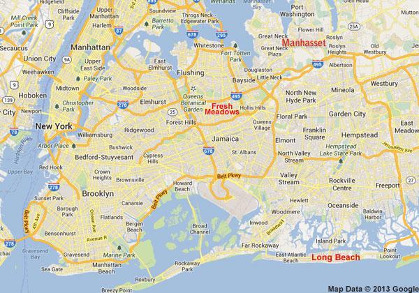 ny / li map