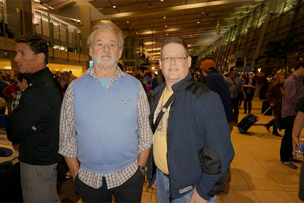 bill murray san diego airport