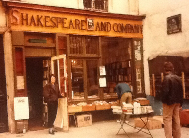 Shakespeare and Company in Paris