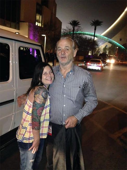 bill murray photo opportunity