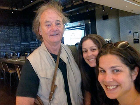 bill murray jfk airport