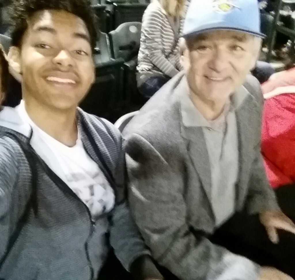 Bill Murray and Dujuan Thomas