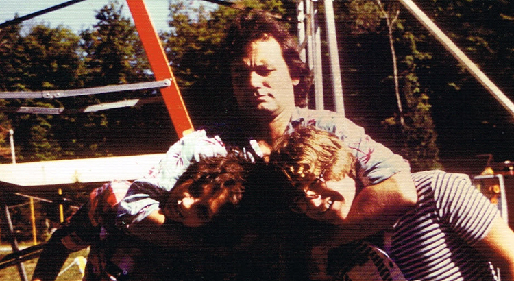 bill murray on the set of meatballs in 1978