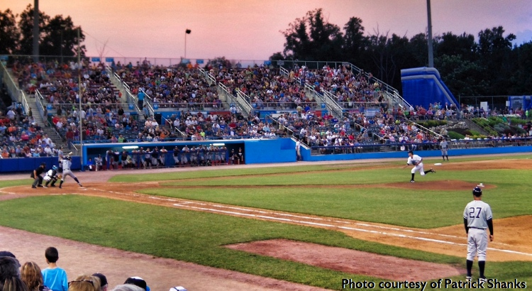Hudson Valley Renegades baseball game
