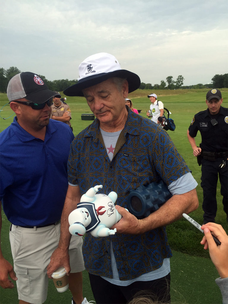 Bill Murray at John Deere Classic