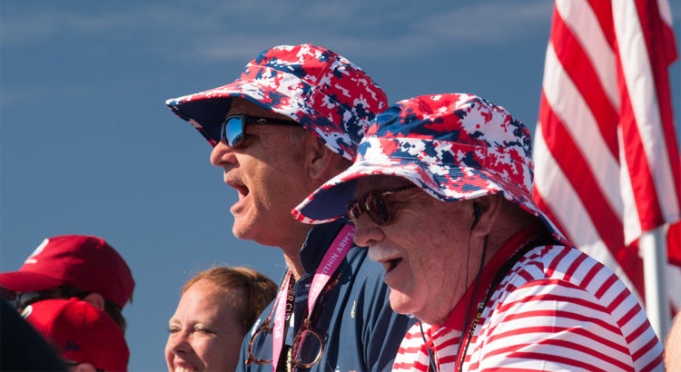Bill Murray at 2016 Ryder Cup