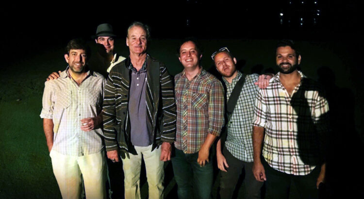 Bill Murray with the band Moontower in Atlanta